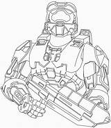 Coloring Halo Pages Printable Outline Boys Print Mc Master Chief Reach Line Tracker Elite Deviantart Drawings Getcolorings Again Bar Looking sketch template