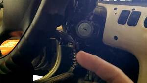 Mazda 626  1997 Ignition Key Light Modification