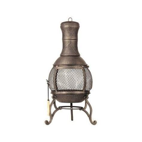 Chiminea Wood - cast iron chiminea outdoor pit fireplace patio heater