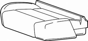 Chevrolet Silverado 2500 Hd Seat Cover  Split Bench