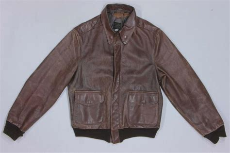 80s Vintage Type A-2 Air Force Bomber Flight Leather