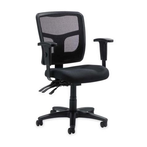 lorell managerial mesh mid back office chair llr86201