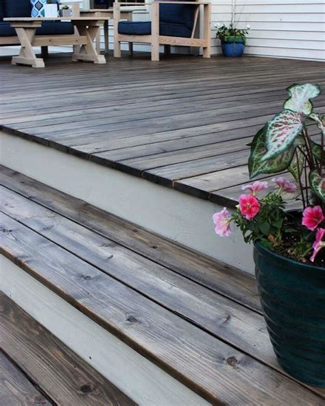 rust oleum deck restore semi transparent stain  autumn