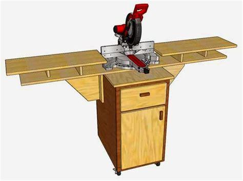 simply easy diy diy mobile fold  miter  station
