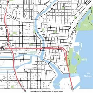 Milwaukee, Wisconsin: Map: Downtown