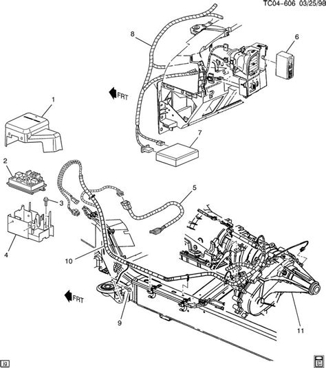 Chevrolet Harness Chassis Wiring