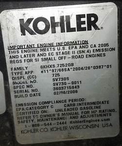 Kohler Courage Compression Release