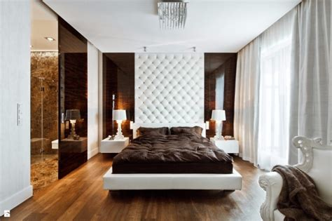 sleek  modern master bedroom designs master