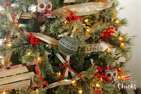 sleigh ride christmas tree the crafting chicks