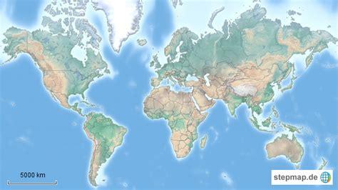 weltkarte mit laendergrenzen von chrschw landkarte fuer