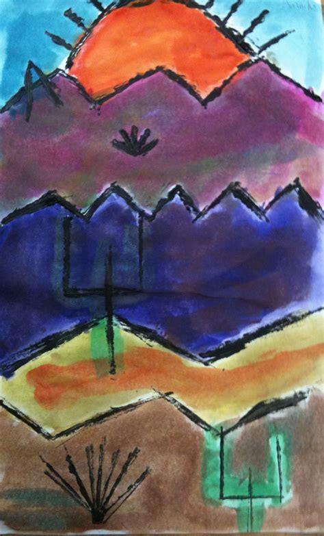 paul klee painted desert   grade   artk  art