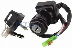 Ignition Key Switch Kawasaki Bayou Klf250 300 Prairie