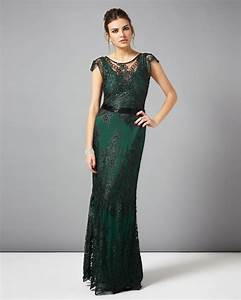 collection 8 dresses | Green Cindy Lace Full Length Dress ...