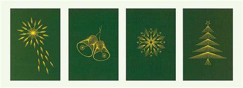 fadengrafik vorlagen weihnachten weihnachtskarten mit fadengrafik buttinette