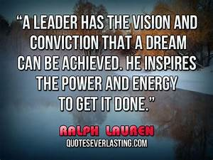 Famous Quotes A... Power Of Vision Quotes