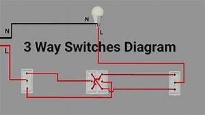 3 Way Switch Wiring Diagram For Light