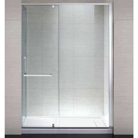 shower doors home depot schon 60 in x 79 in semi framed shower