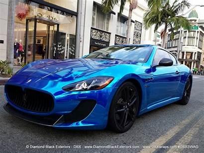 Maserati Granturismo Mc Chrome Stradale Avery Azul
