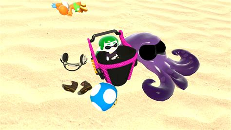An Inkling Mini In Her Own Little Poool By Mrbenio On