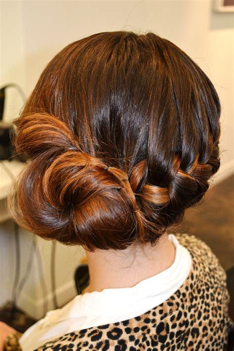 holiday hair braid bun beauty blvd