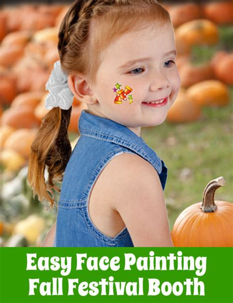 fall festival activities easy face painting
