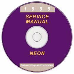 1996 Dodge Neon PL Service Manual CD