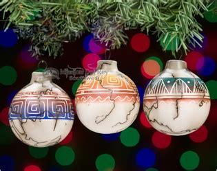 rustic southwest christmas ornaments