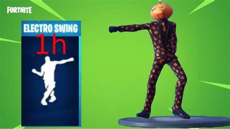season  electro swing dance emote fortnite  hour