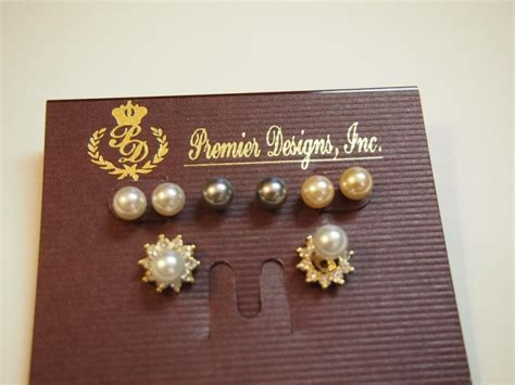 Mimi Premier Designs Post Earrings (set Of 4