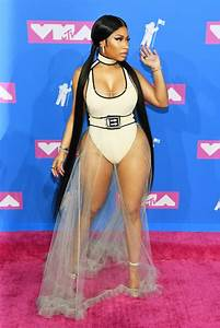 Nicki Minaj Outfit VMAs 2018 | POPSUGAR Fashion Photo 7