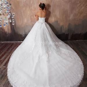 welcome wallsebottumblrcom With train wedding dress