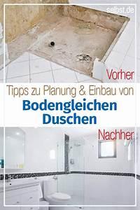 Bodengleiche Dusche Nachträglich Einbauen : dusche selber bauen dusche selber bauen bodengleiche ~ A.2002-acura-tl-radio.info Haus und Dekorationen