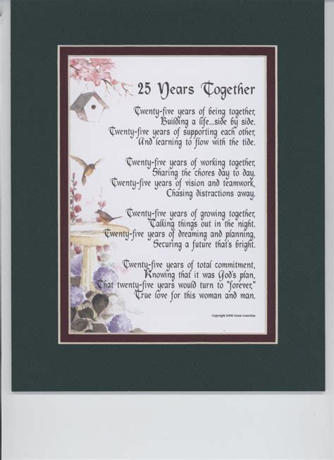 Free Anniversary Poem Picture by Printable Poems 60th Anniversary Happy Wedding