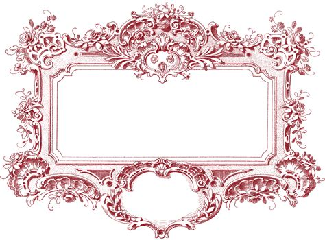Gorgeous Baroque Frame Images