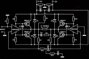Tda2030 Subwoofer Amplifier Circuit Pcb Under Repository-circuits