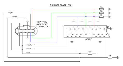 scart wiring diagram 20 wiring diagram images wiring