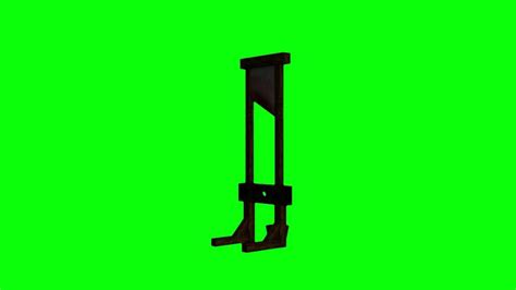 green screen medieval guillotine head cutter p hd