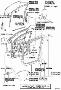 Toyota Tacoma Door Check Kit  Left  Right  Front   Panel