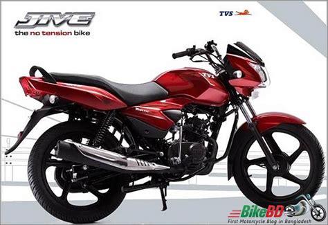 Latest Tvs Jive 110cc Price In Bangladesh, Review