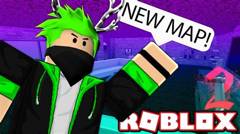 Murder Mystery 2 New Map Hype In Roblox Youtube