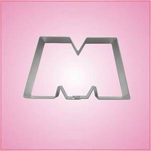monsterous letter m cookie cutter cheap cookie cutters With letter m cookie cutter