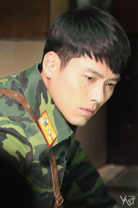 hyun bin crash landing   drama set