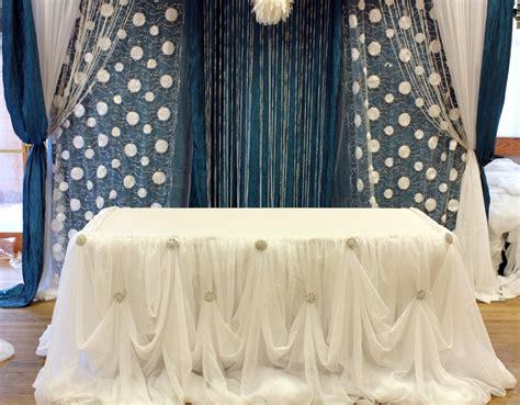 drape table cinderella drape for or cake table draping