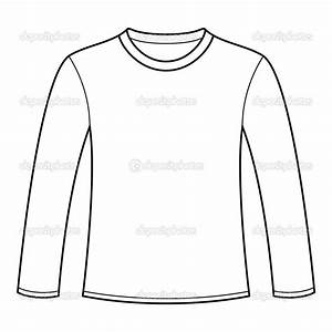 b7081b6a53c03 17 Long Sleeve Tee Shirt Design Template Vector Images .