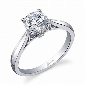 2018 popular wedding rings settings without center stone With wedding ring settings without center stone