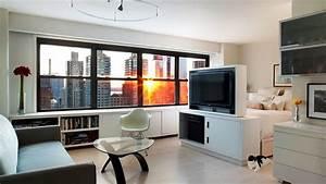 Small Efficient Studio Apartment Design Ideas - YouTube