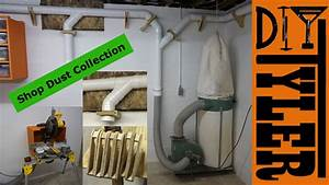 Shop Dust Collection System 021 - YouTube