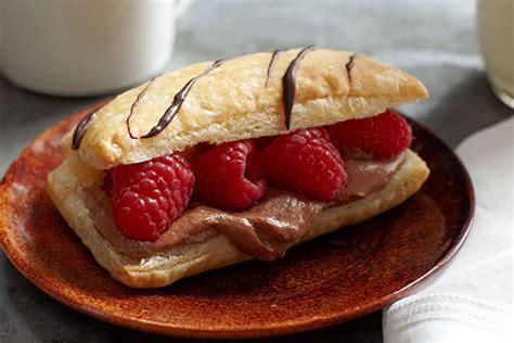 Chocolate-Raspberry Napoleons - Kraft Recipes