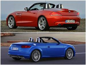 Audi Tt 1 : 2015 audi tt roadster vs 2014 bmw z4 roadster comparison autoevolution ~ Melissatoandfro.com Idées de Décoration