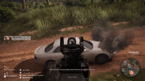 ghost recon wildlands destroy  car   shooting